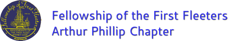 Arthur Phillip Chapter of the Fellowship of the first Fleeters
